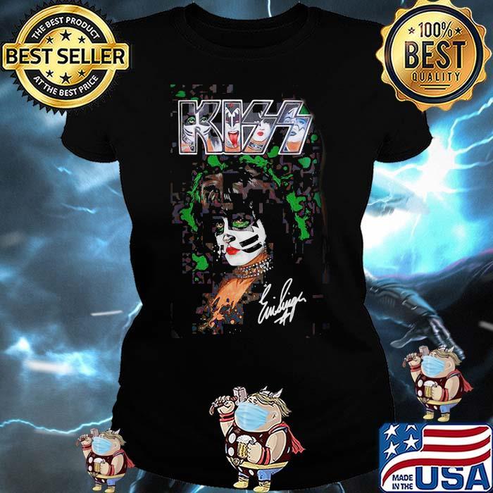 Ace Frehley Kiss Signature Shirt Ladies tee