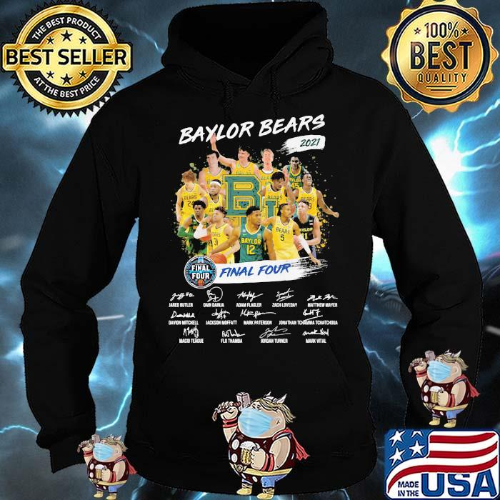 Baylor Beers 2021 Final Four Signature Shirt Hoodie