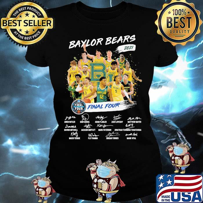 Baylor Beers 2021 Final Four Signature Shirt Ladies tee