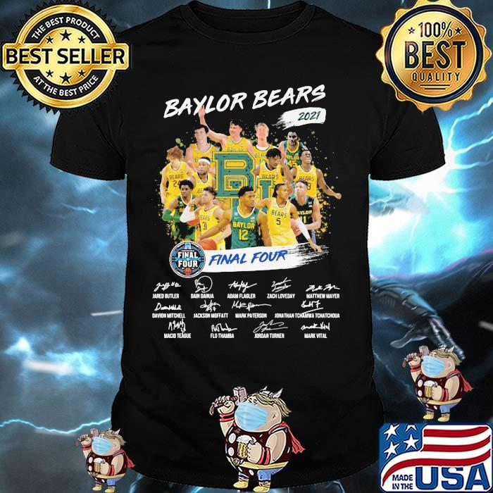 Baylor Beers 2021 Final Four Signature Shirt