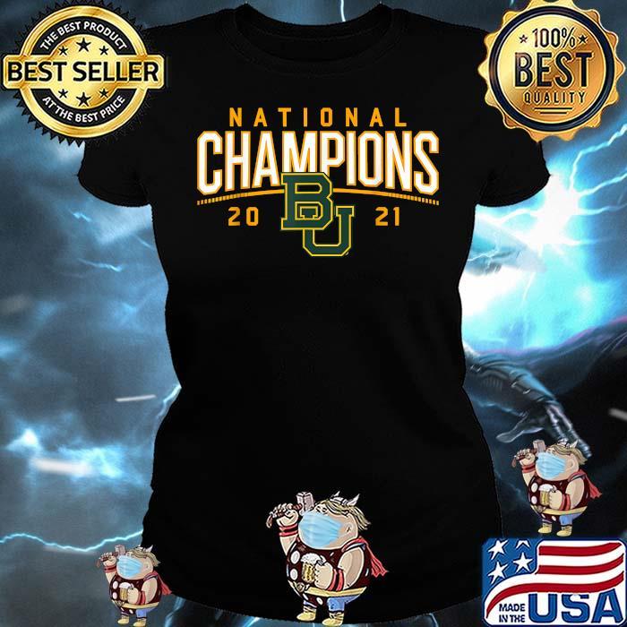 Baylor National Champions 2021 Shirt Ladies tee