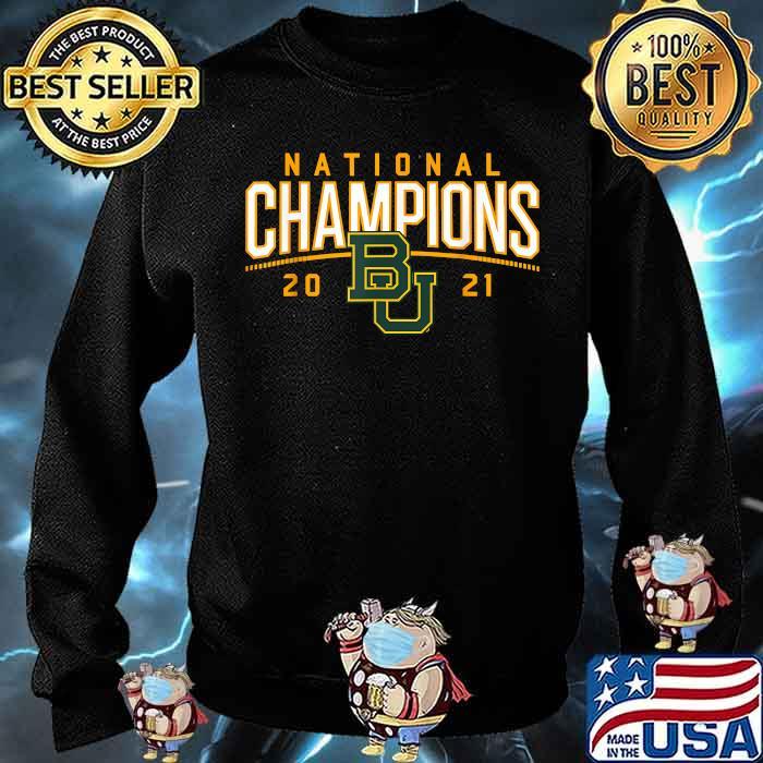 Baylor National Champions 2021 Shirt Sweater