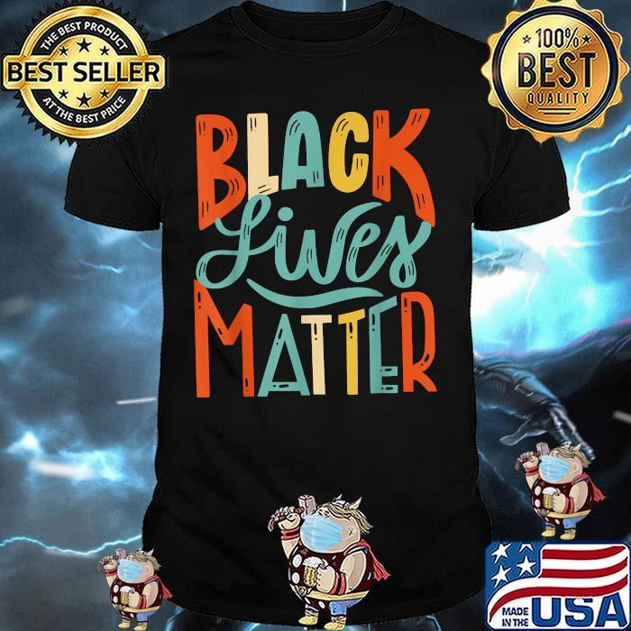 BLM Black Lives Matter Vintage Shirt