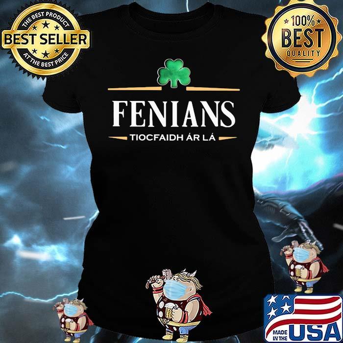 Fenians Tiocfaidh Ar La Irish Patrick Day Shirt Ladies tee