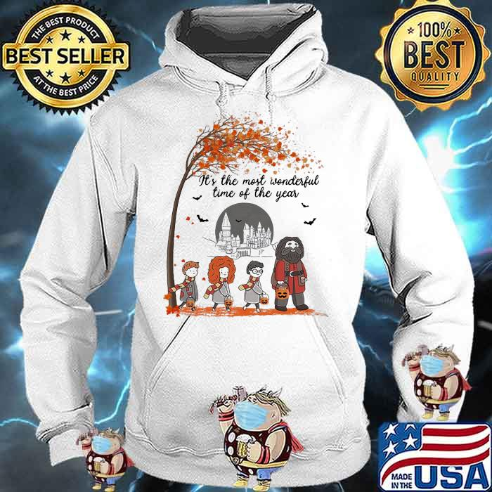 It's The Most Wonderful Time Of The Year Harry Potter Pumpkin Shirt Hoodie
