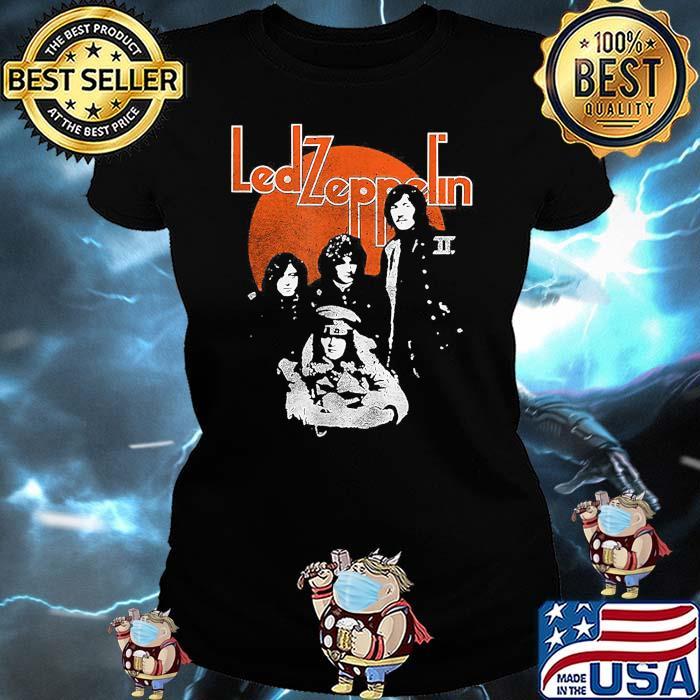 Led Zeppelin Blood Moon Shirt Ladies tee