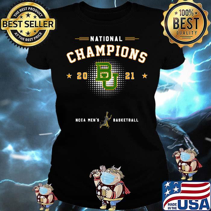 National champions 2021 Baylor Basketball Shirt Ladies tee