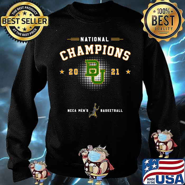 National champions 2021 Baylor Basketball Shirt Sweater
