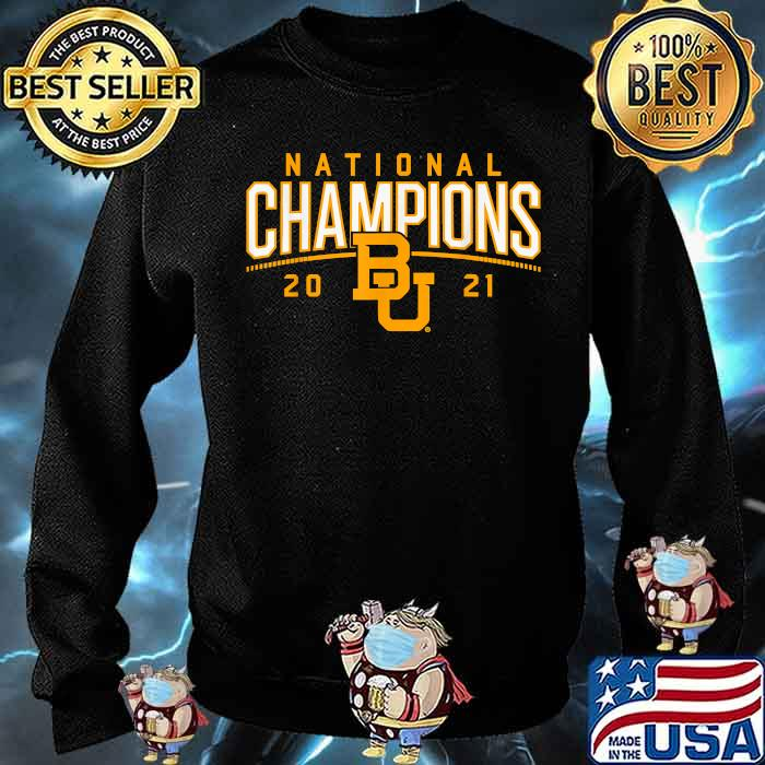 National champions 2021 Baylor Shirt Sweater