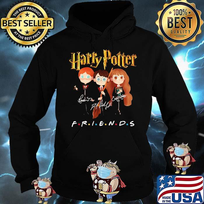 Official Harry Potter Friends Signature Shirt Hoodie