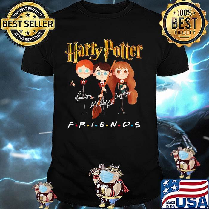 Official Harry Potter Friends Signature Shirt