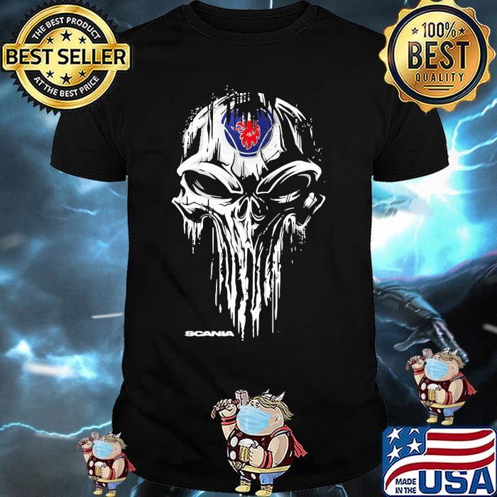 Punisher With Scania Logo Shirt