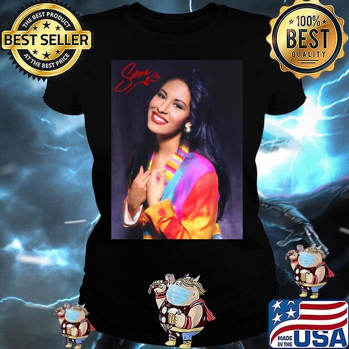 Selenas Quintanilla Love Music Signature Shirt Ladies tee