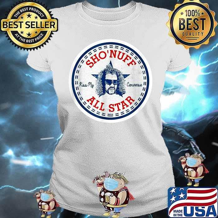 Sho Nuff All Star Logo Shirt Ladies tee