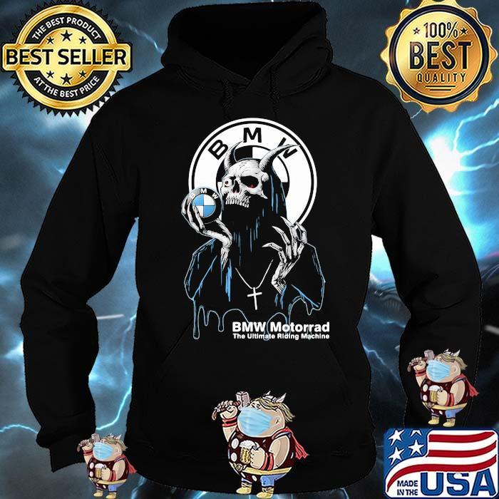 Skull Hold Bmw Motorrad The Ultimate Riding Machine Shirt Hoodie