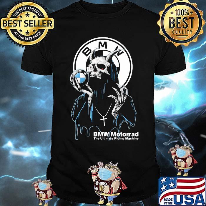 Skull Hold Bmw Motorrad The Ultimate Riding Machine Shirt