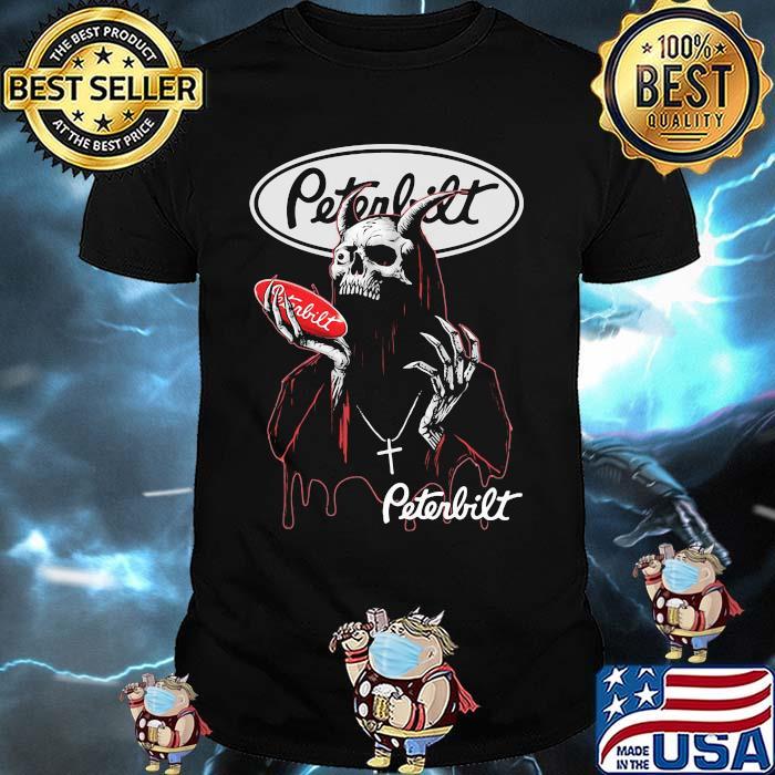 Skull Hold Peterbilt Logo Shirt