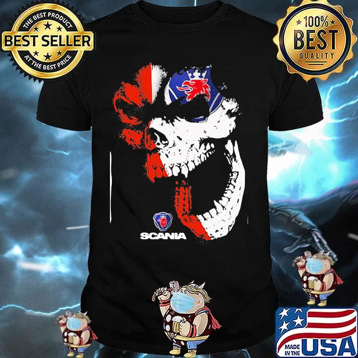 Skull With Scania Logo Shirt