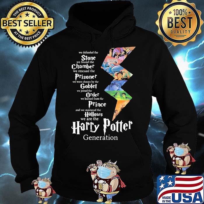 Stone Champer Prisoner Goblet Order Prince We Are The Harry Potter Generation Shirt Hoodie