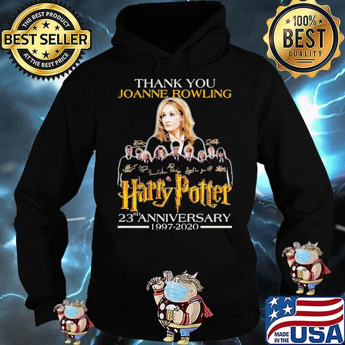 Thank You Joanne Rowling Harry Potter 23rd Anniversary 1997 2020 Signature Shirt Hoodie