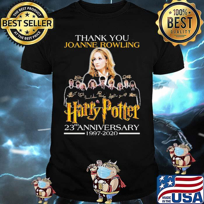 Thank You Joanne Rowling Harry Potter 23rd Anniversary 1997 2020 Signature Shirt