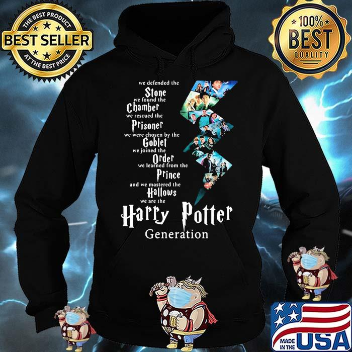 We Defended The Stone We Found The Chamber Prisoner Goblet Harry Potter Generation Shirt Hoodie