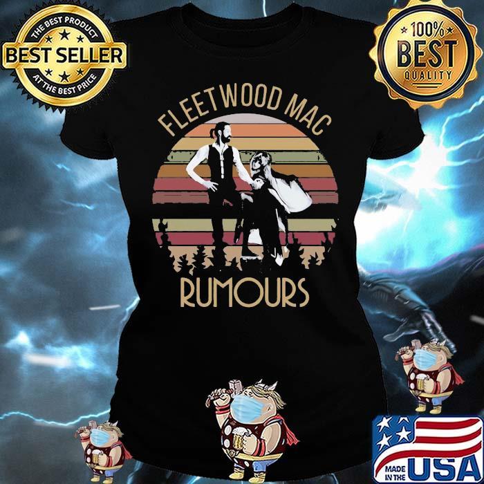 Fleet Wood Maac Rumours Vintage Shirt Ladies tee