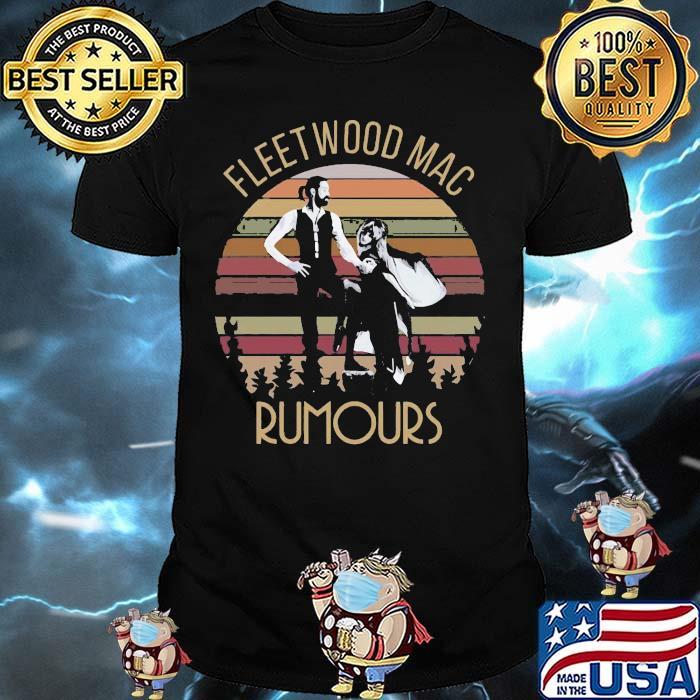 Fleet Wood Maac Rumours Vintage Shirt
