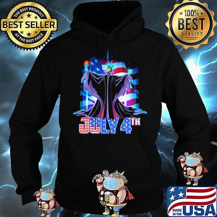 July 4th Independence Maleficent Disney Shirt Hoodie