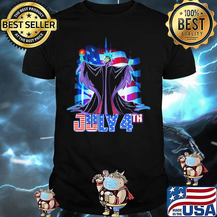 July 4th Independence Maleficent Disney Shirt