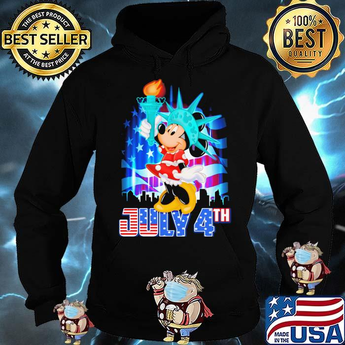 July 4th Independence Minnie Mouse disney Shirt Hoodie