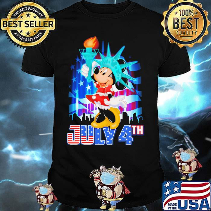 July 4th Independence Minnie Mouse disney Shirt