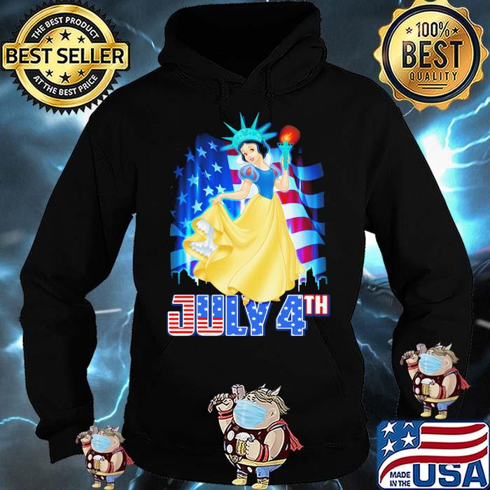 July 4th Independence Snow White Disney Hoodie