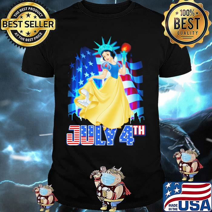 July 4th Independence Snow White Disney shirt