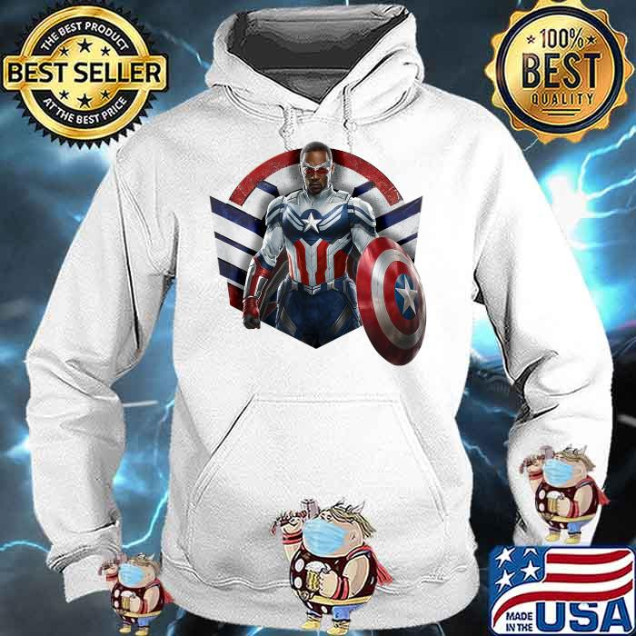 Marvel The Falcon the Winter Soldier Captain America Strong Shirt Hoodie