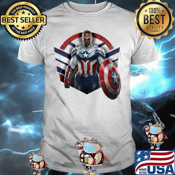 Marvel The Falcon the Winter Soldier Captain America Strong Shirt